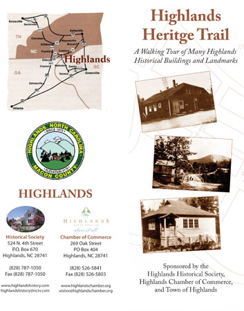 Heritage Trail Brochure